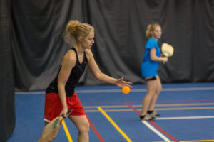 Pickleball! Image Credit Ville de Victoriaville, CC BY-ND 2.0.